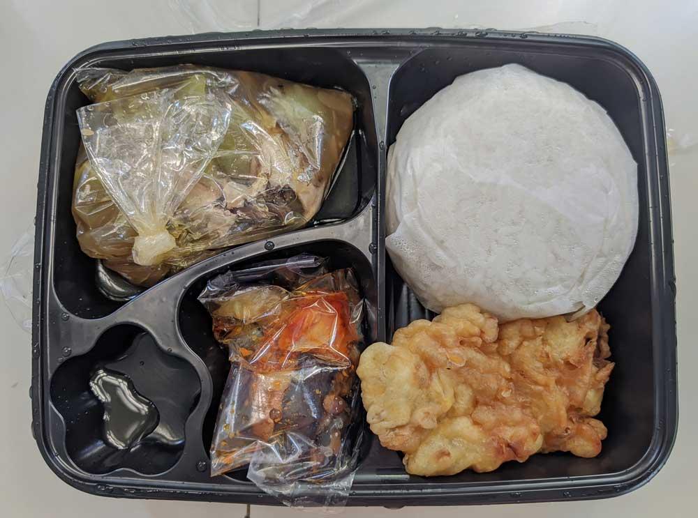 Nasi Ikan Kuah Asam Kulina