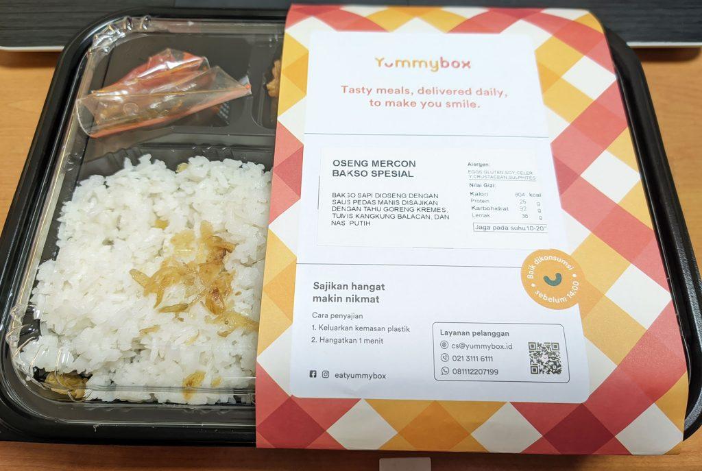 Packaging yummybox
